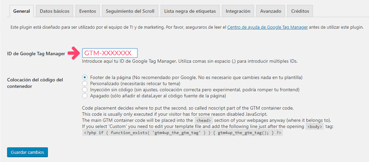 Plugin DuracellTomi Tag Manager